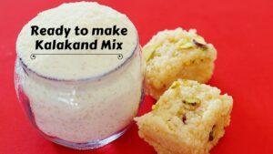 Ready to make Kalakand Mix