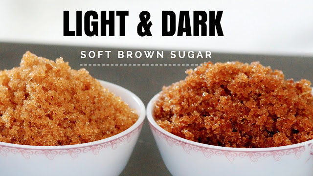 How to make Brown Sugar – How to make Soft Light and Dark Brown Sugar at Home