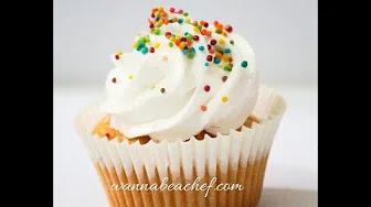 Eggless Vanilla Cupcake- No butter no curd no Condensed Milk cake