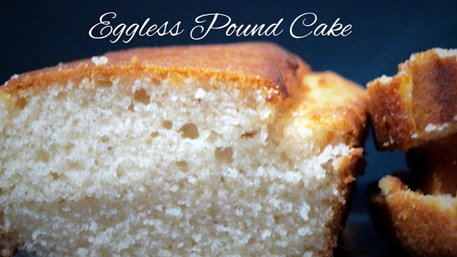 No Butter Easy Eggless Pound Cake Recipe in Convention Microwave( Step by Step Eggless Pound Cake)