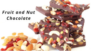 Fruit and Nut Chocolate – How to make Chocolate at Home – Homemade Chocolates