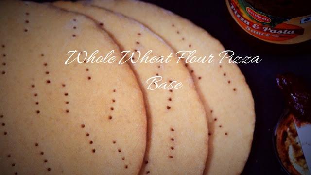Whole Wheat Flour Pizza Base – Ready to use Whole Wheat Pizza Base