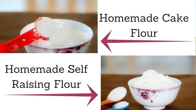 Homemade Cake Flour and Self Raising Flour
