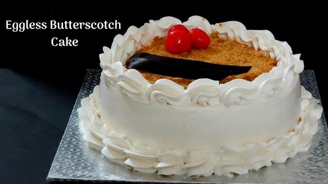 Butterscotch Pastry Cake