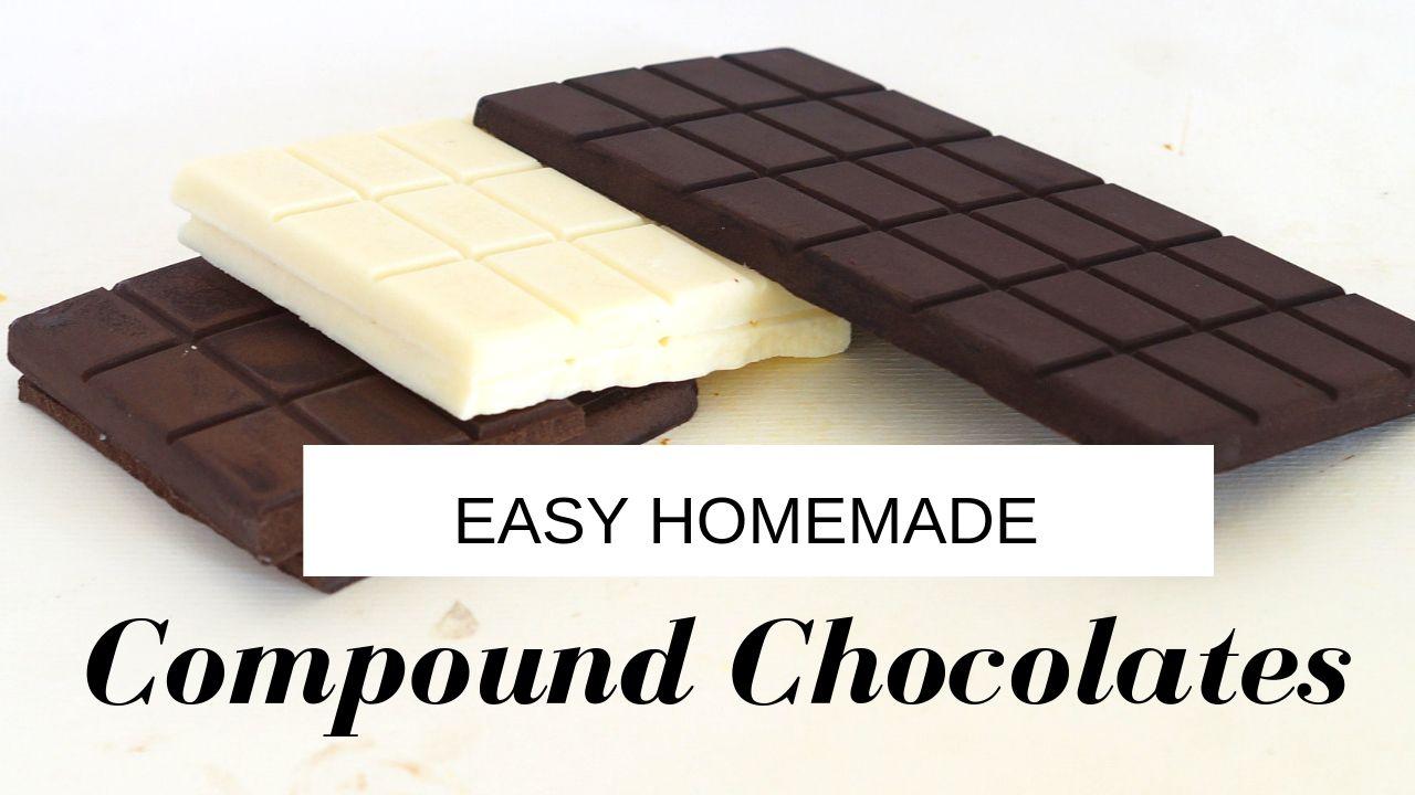Sugar-Free Compound Chocolate | Homemade Compound Chocolate Recipe