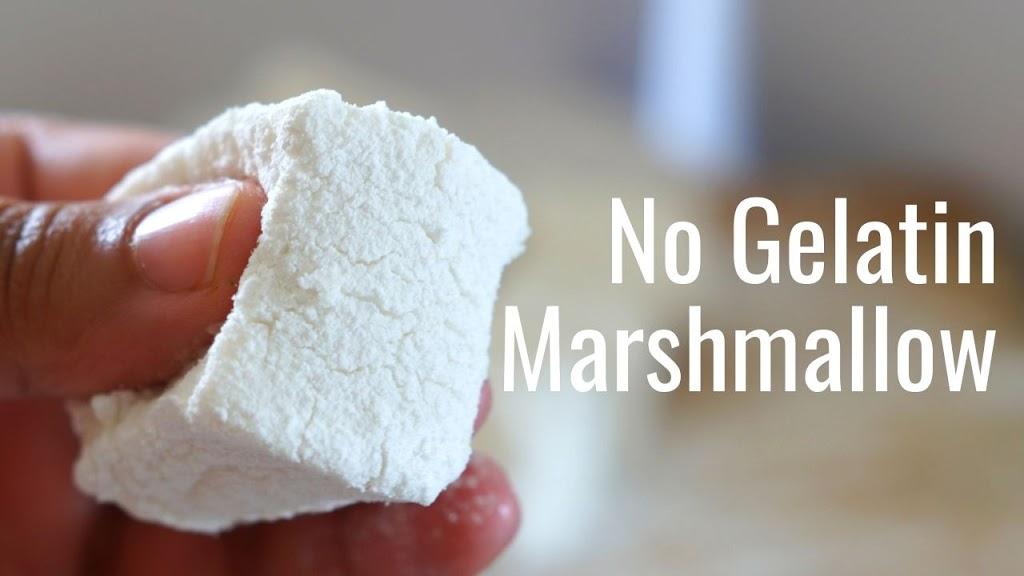 No Gelatin Marshmallow - Vegan Homemade Marshmallow