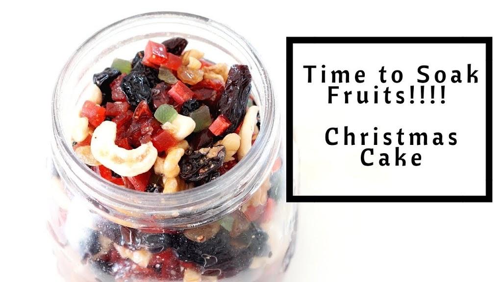 HOW TO SOAK FRUITS FOR CHRISTMAS CAKE? No Alcohol Fruit Cake