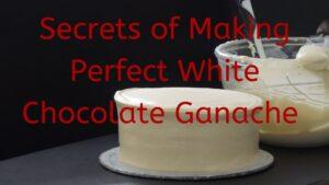 Spreadable and Yummy White chocolate Ganache