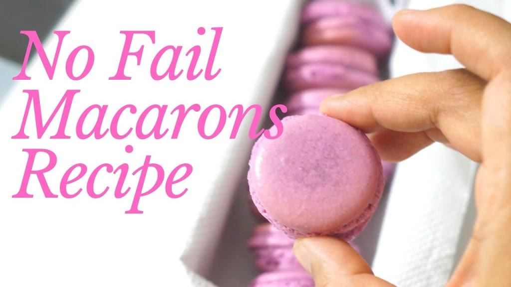 No Fail Macarons | How to Make Perfect Macarons