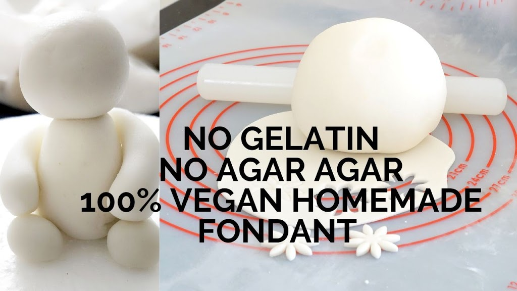 No Gelatin No Agar Vegan Fondant