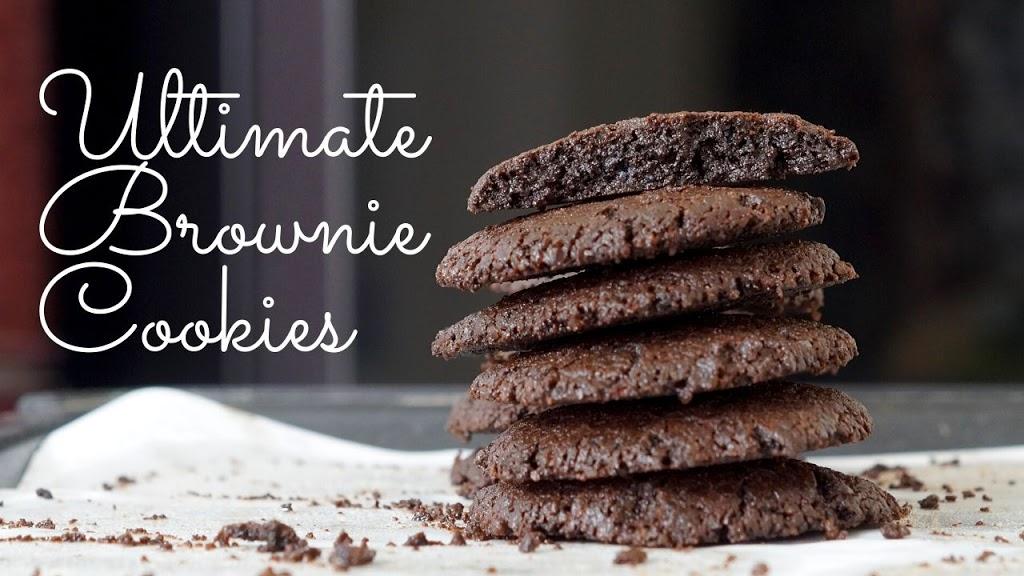 Eggless Brownie Cookies