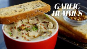 Garlic Hummus without Tahini