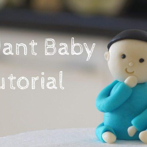 fondant baby tutorial
