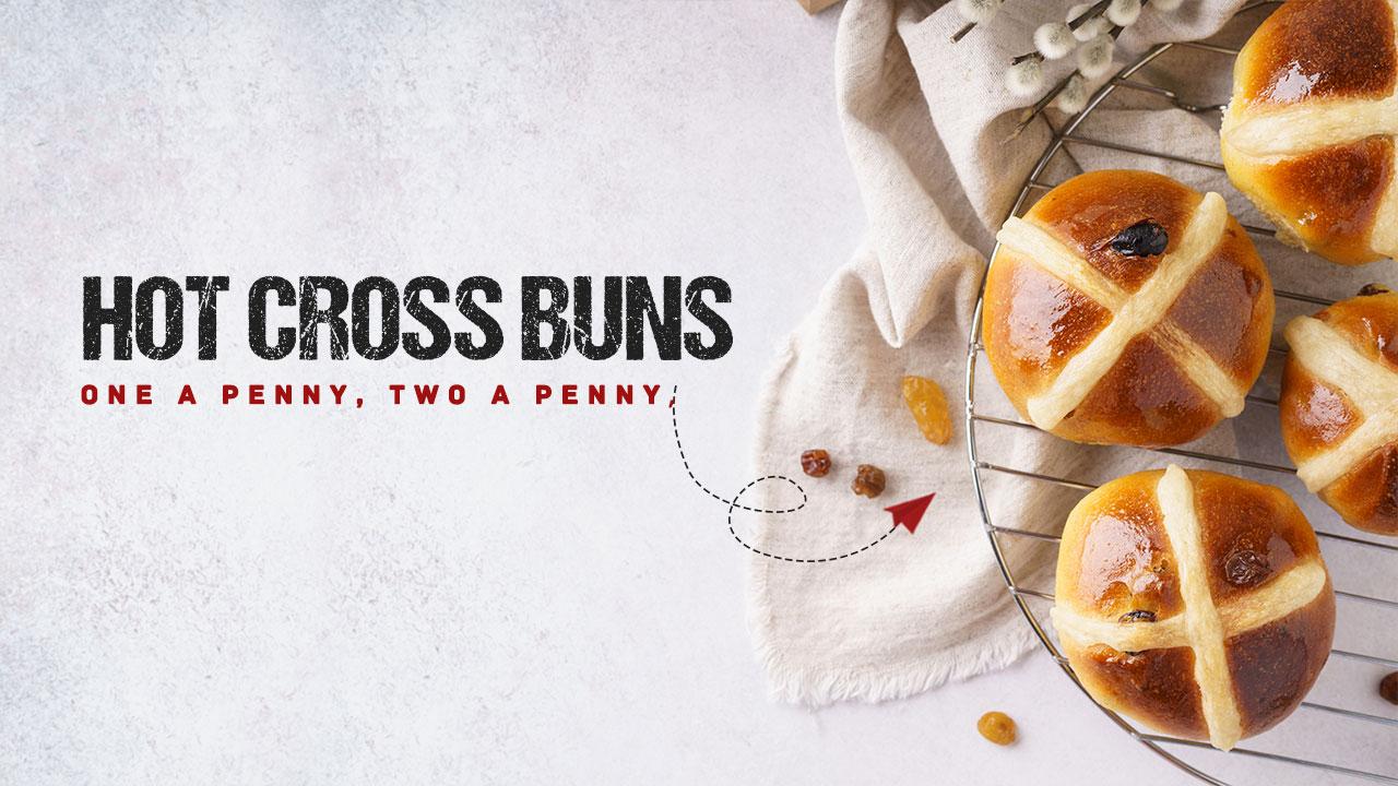Hot cross buns recipe | How to make Hot cross buns